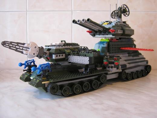 Re: Сверхтяжелый осадный танк