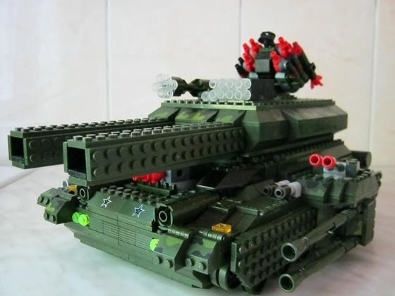 Как сделать лего танк с инструкцией